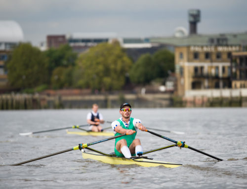 Ash takes on the Wingfield Sculls